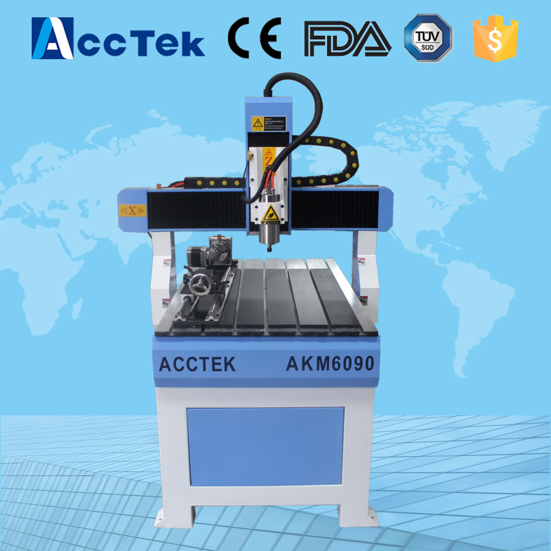 Metal cutting mini engraving cnc router, 4 axis kit 3d sculpture making cnc machinery tools  high precision table moving 4 axis cnc mini router 3 axis mini cnc router metal engraving machine 3030 4040 6060