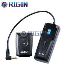 Godox беспроводной студийное управление вспышкой RT-04 трансмитер+ приемник комплект 4 канала для Godox K-150A/K-180A/SDI250 и т. д