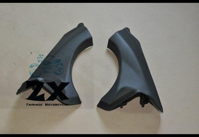 За 2007-2008 запросу zx6r ZX636 инъекции прессформы ABS обтекатель тире обрезать кусок пластика ОЗУ воздух Крышка черный