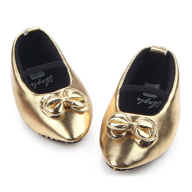 2847a214 0-18 M de los Bebés de Oro Elegantes Zapatos Niño Niños Princesa zapatos  Primero