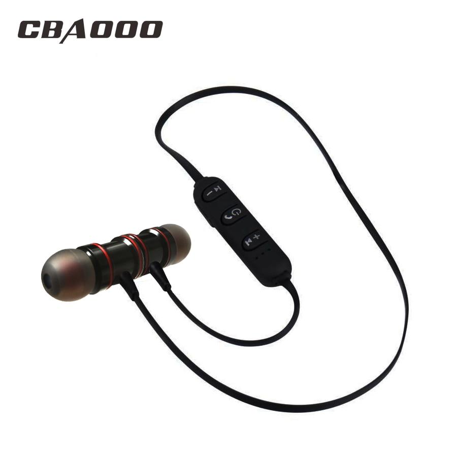 CBAOOO Bluetooth Earphone With Mic Sport Wireless Earphones Bass Bluetooth Headset For IPhone All Phones