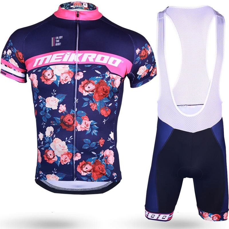 Unisex Cycling Clothing Bike Jersey Set Short Sleeve Cycling Dress Set Pro Team Bike Wear bisiklet set equipe de france