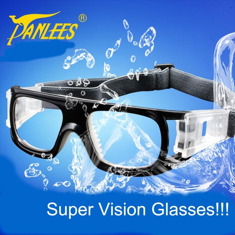 Professional prescription football glasses soccer basketball durable goggles with adjustable elastic super vision