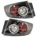 fits MAZDA 3 / AXELA 2006 2007 2008 4D Tail Lights Rear Lamps SET LEFT + RIGHT PAIR SEDAN ONLY