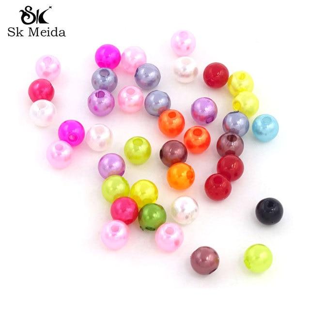 a9a6e0a80f5b US $4.87 |Mix Color Imitation Pearl Beads Perlas Para Bisuteria 6 mm Beads  Abalorios Para Hacer Pulseras Perola Para Artesanato 500Pcs/Lot-in Beads ...