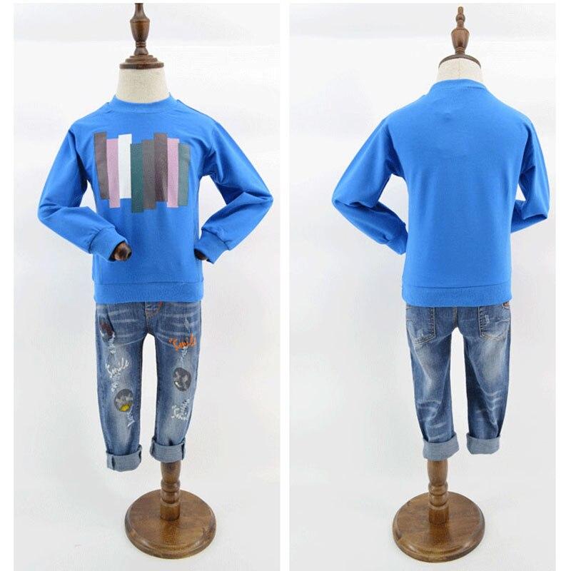 Beigele Kids Boys Hoodies 2018 Spring Long Sleeve Sweatshirt Casual Baby Boys Hoodies Tops Fashion Printed O-neck Cotton Tops