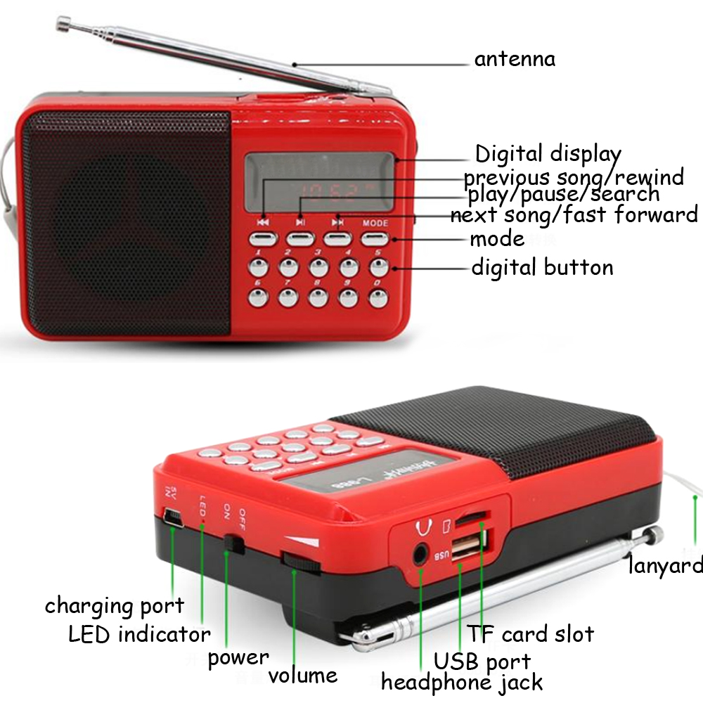 E3301-mini FM radio-1