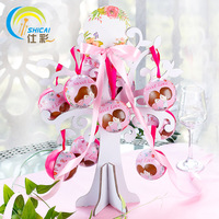 Wizard Ball Love Tree Combination Suit Round Tinplate Creative Personality Sweet Candy Box Wedding Decoration Gift