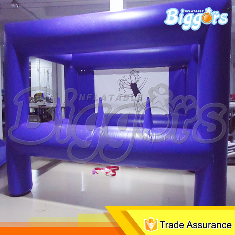 Customized Shooting Arena Inflatable Archery Tag Target Shooting Sport Games shooting stars