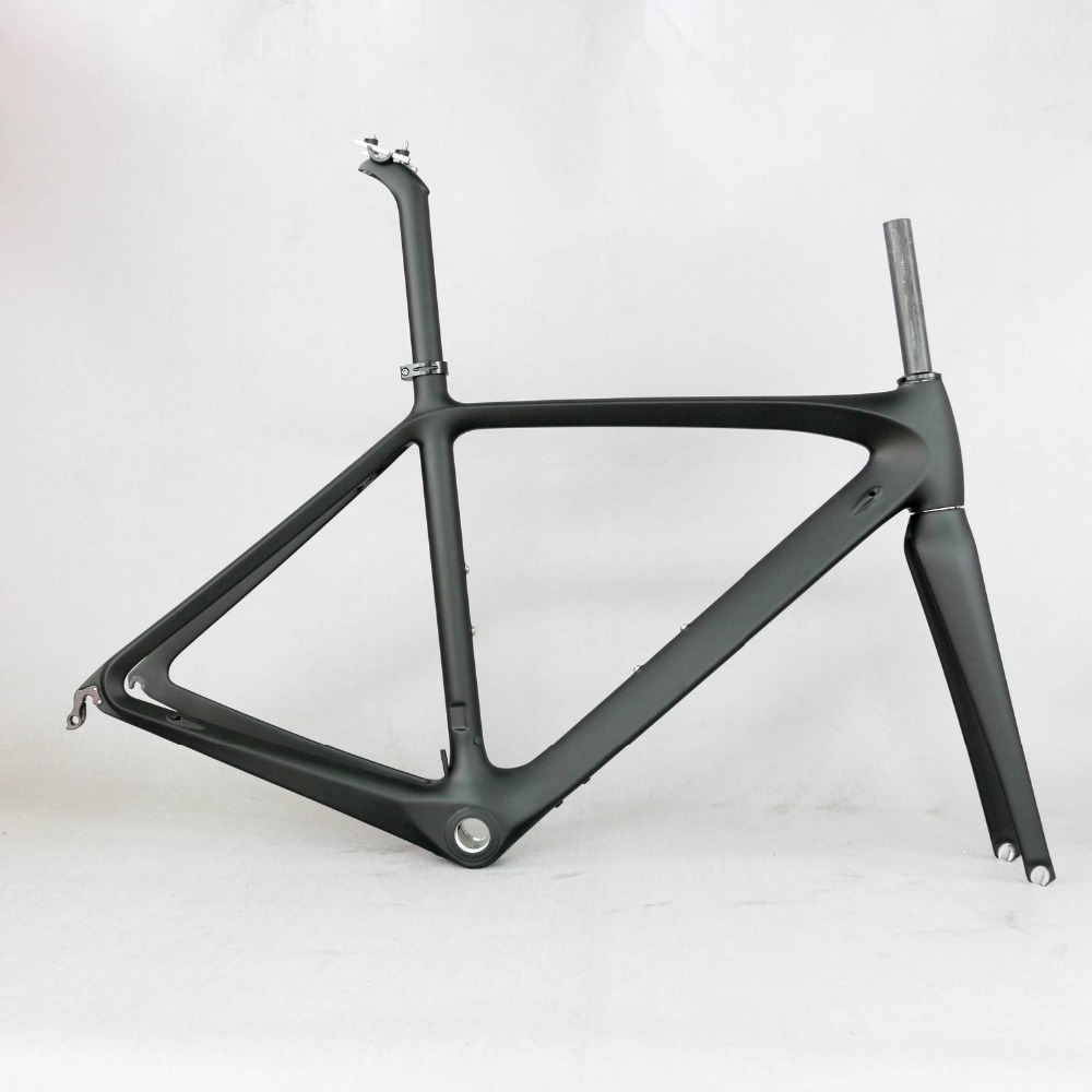 Oem Brand carbon frame factory clearance sale bicycle rod frame include frame fork seatpost TT R11