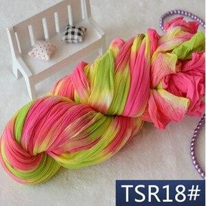 Чулки 3 м, эксклюзивные чулки с аксессуарами для цветов, сетчатый венок с украшением, Специальная окраска, Чулки с цветами пиона, нейлоновые цветы