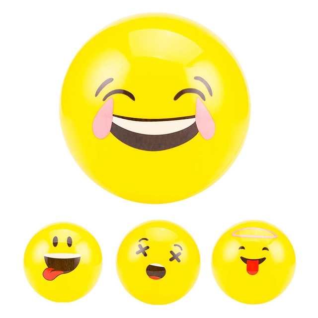 b9d34952429 Online Shop LeadingStar Emoji Balloons Smiley Beach Ball 1Pcs Face  Expression Toy Yellow Latex Balloons Cartoon Inflatable Balls zk25    Aliexpress Mobile
