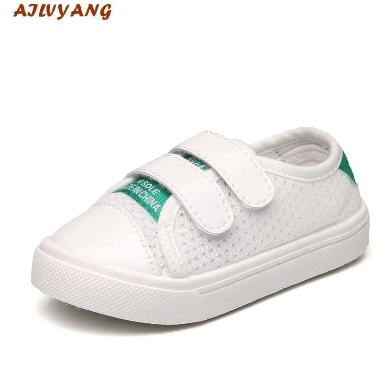 2017 AILVYANG Brand Baby Boys Summer Autumn Mesh Shoes Little Kids Breathable Sneakers Children Girls Flats Shoes Sandals A03