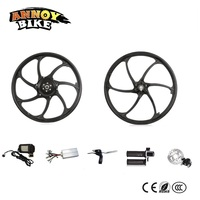 New One Wheel Design Front& Rear Hub Motor Kit 20 Rear Drive Electric Scooter Kit Electric Folding Bike Kit
