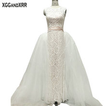 XGGandXRR Wedding Dresses 2019 1 Detachable Train