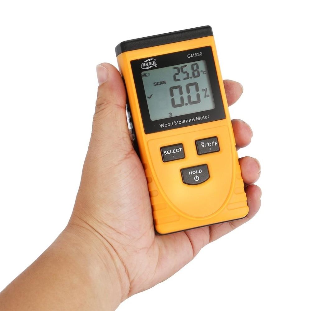 Werkzeuge Hell Holz Feuchtigkeit Meter Gm630 Digital Lcd Display Feuchtigkeit Test Wassergehalt Meter Detektor Dichte Hygrometer Vochtmeter Messung Und Analyse Instrumente
