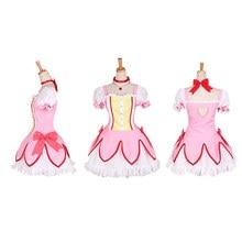 Anime Puella Magi Madoka Magica Cosplay Kaname Costume halloween