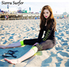 2017 Female South Korea Long Sleeved Body Thin Sunscreen Sunscreen Clothing Outdoor Sports Diving Suit Four