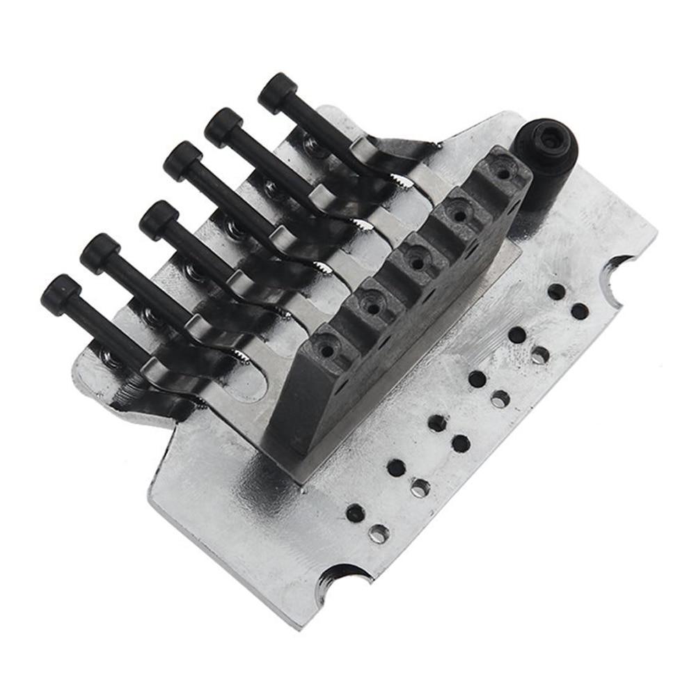 2 PCS of (Double Locking Tremolo System Bridge For Electric Guitar Floyd Rose Parts Silver) недорого