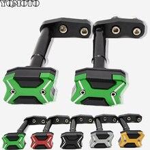 Motorcycle CNC Frame Crash Pads Engine Case Sliders Protector For Kawasaki Z 300 Z300 2013 2014 2015 2016 cnc motorcycle frame crash pads engine case sliders protector for kawasaki z1000 2015 2016