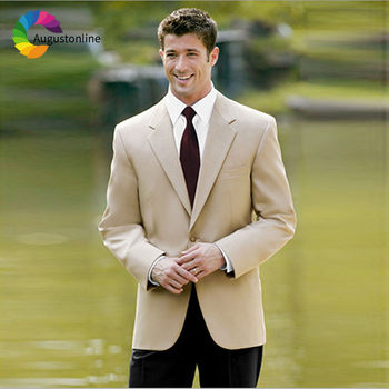 Men Wedding Suits Groom Wear Slim Fit Tuxedos 2 Pieces (Jacket+Pants)Bridegroom Prom Suits Best Man Costume Homme Blazer beige slim fit wedding suits groom tuxedos 2 pieces jacket pants bridegroom men suits best man blazer prom wear