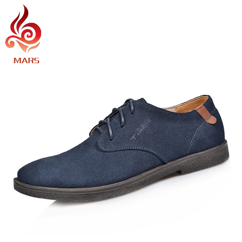 2017 Spring Autumn Men Shoes Fashion Oxford Shoes Men Office Men Brogues Male Suede Leather ...