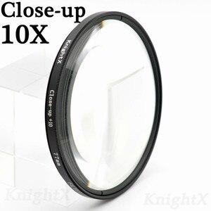Image 2 - KnightX מאקרו מקרוב uv cpl כוכב מסנן עבור Sony ניקון Canon EOS DSLR d5200 d3300 d3100 d5100 nd gopro עדשת עדשות 52 58 67 mm