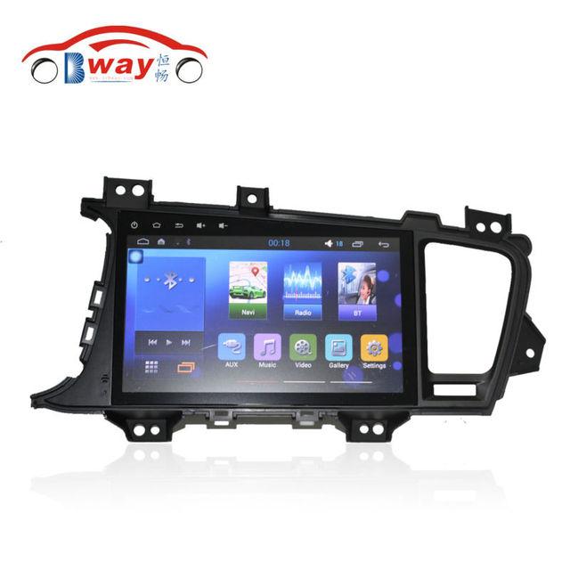 "Bway 9 ""емкостный 1024*600 HD Quadcore Android 5.1 dvd-плеер автомобиля для KIA K5 optima автомобиль видеоплеер С 1 Г RAM, 16 ГБ iNAND"