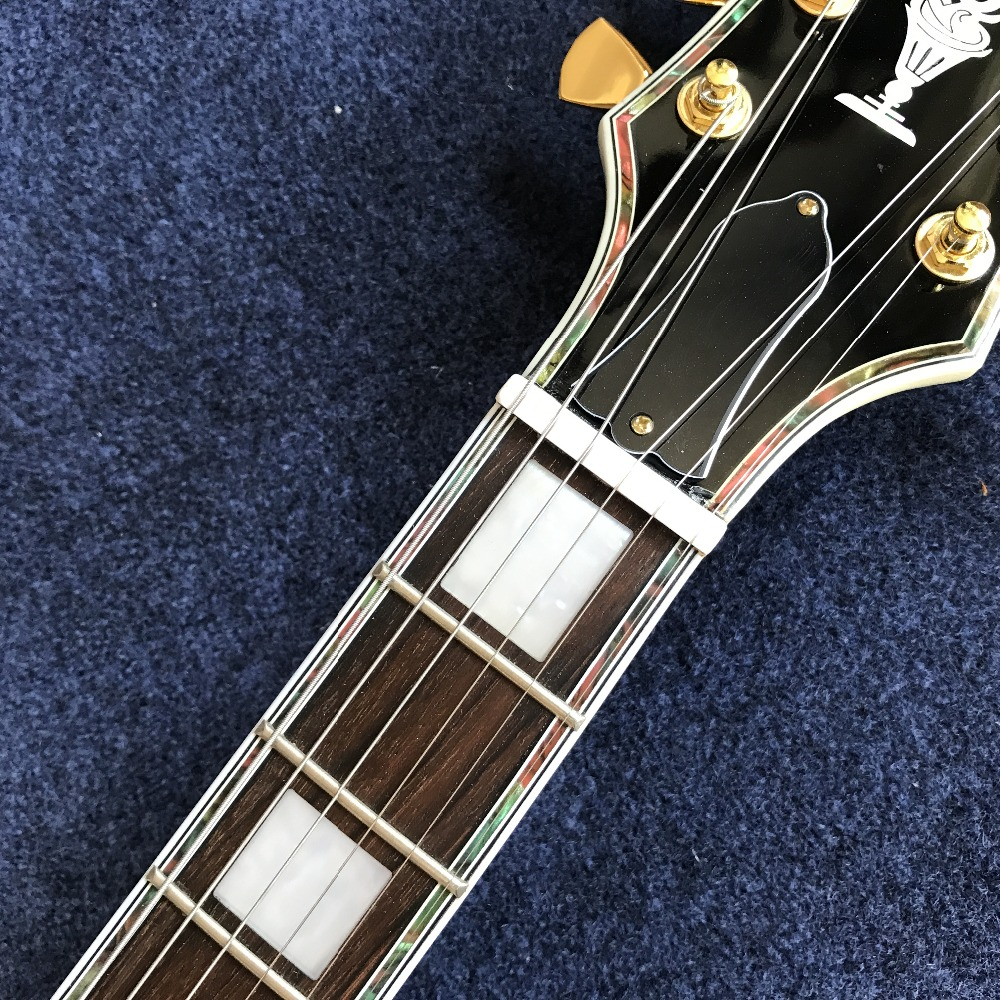 Wholesale Vicers custom Hollow Body guitarra new arrival High quality Sunburst Custom jazz electric guitar