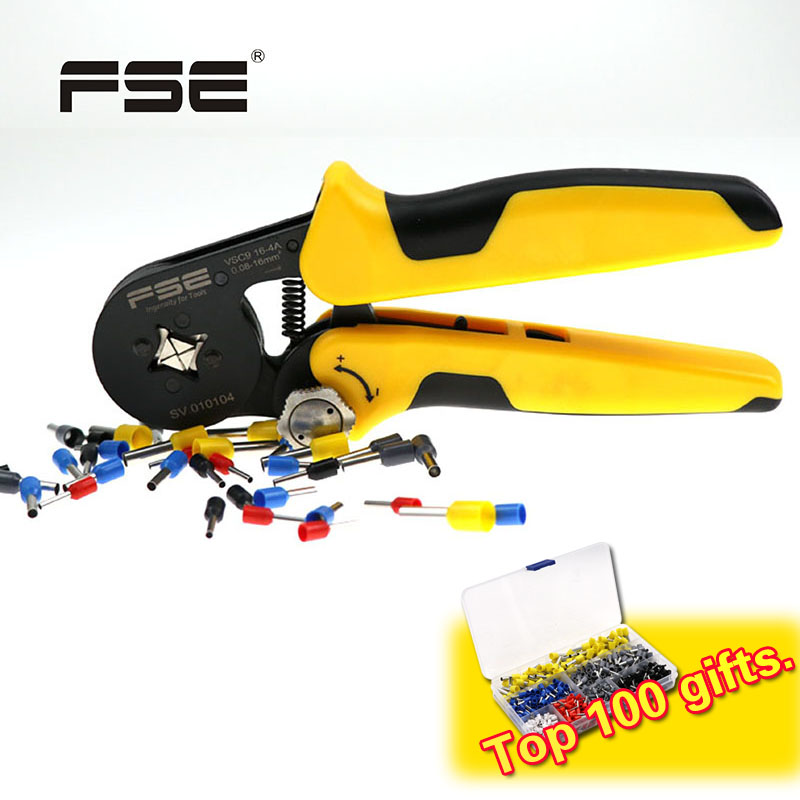 FSE Crimping Plier Tool Cable Cutter Crimper Kablo Kesici Pliers Crimp Alicate Wire Tools Alicate Crimpador