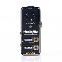 guitar accessories guitar pedal MOOER Audiofile Pedal Headphone Amplifier hifi quality pedalboard headphone amplifier