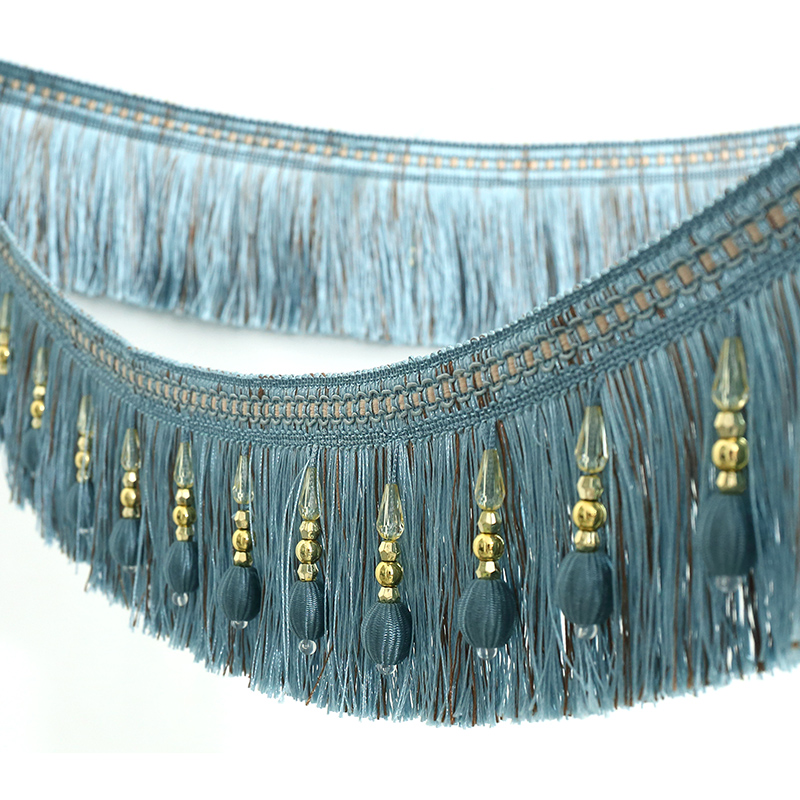 The Curtain Pendant Beads Lace Tassels