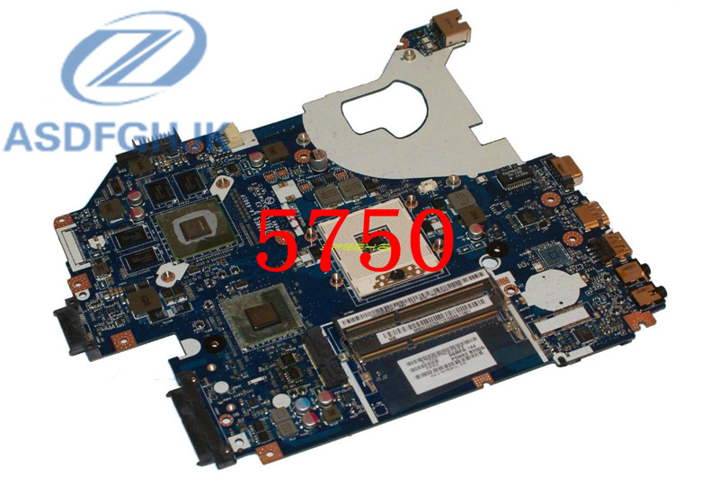 Laptop motherboard For ACER for Aspire 5750 5750G motherboard P5WE0 LA-6901P HM65 DDR3 Non-integrated 100% tested image