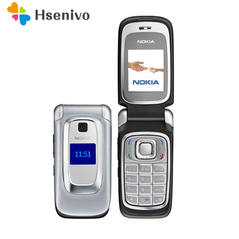 100 Original Nokia 6085 original Mobile phone unlocked quad band FM Radio GSM cellphone Free shipping