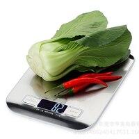 5 KG Bilancia Da Cucina Digitale 5000g 1g Acciaio Inossidabile Peso Balance per Food Diet Frutta Da Cucina Dieta di Ponderazione strumento Scale LCD