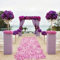 Backlakegirls new arrival wholesale 2000pcs lot wedding decorations romantic artificial flowers polyester wedding rose petals.jpg 250x250