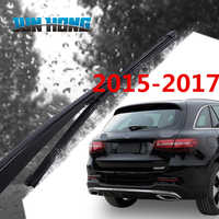 JunHong Rear Wiper Blade And Arm For Mercedes GLA 200/220/260/Class C station wagon2015-2017 Windscreen Rubber Car Accessories