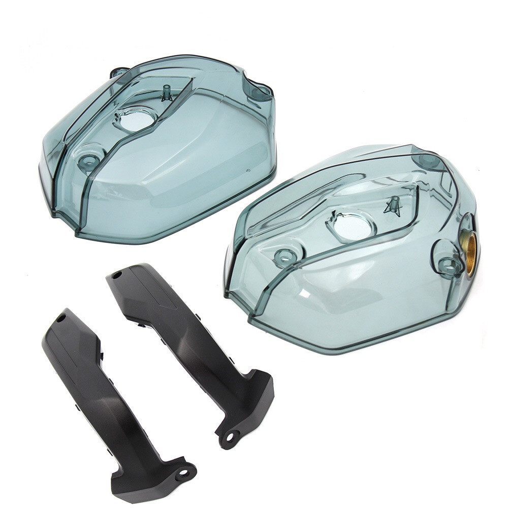 Modified Boxer Engine Transparent Side Head Cylinder Cover for BMW R1200GS RT Waterbird ADV