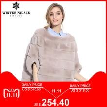 2018 autumn and winter new Fashion Slim rex rabbit fur Short fur coat Winter women rabbit fur coat WINTER PALACE Brands