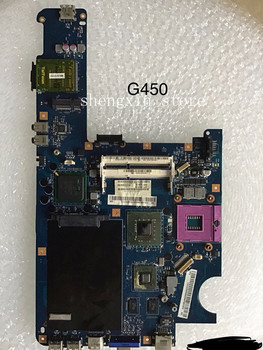 For Lenovo G450 Laptop motherboard KIWA5 LA-5081P with N10M-GS2-S-A2 GPU Onboard GM45 test 100%