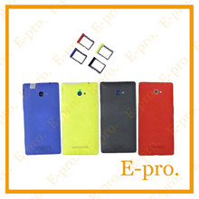 New Battery Door For HTC 8x C620e Back Cover Housing +Sim Card Tray +Tools Free Tracking No.