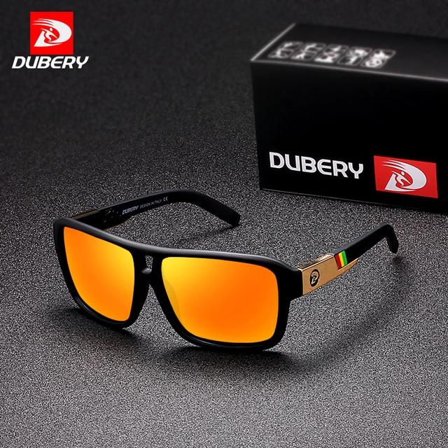 DUBERY Aviação Dos Homens Óculos Polarizados Condução Óculos de Sol Das  Mulheres Dos Homens Do Esporte 461a5f7d41