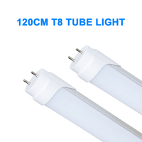 4 Pcs 1200mm T8 Led TubeLight High Super Bright 18W Cold White Natural White Warm White