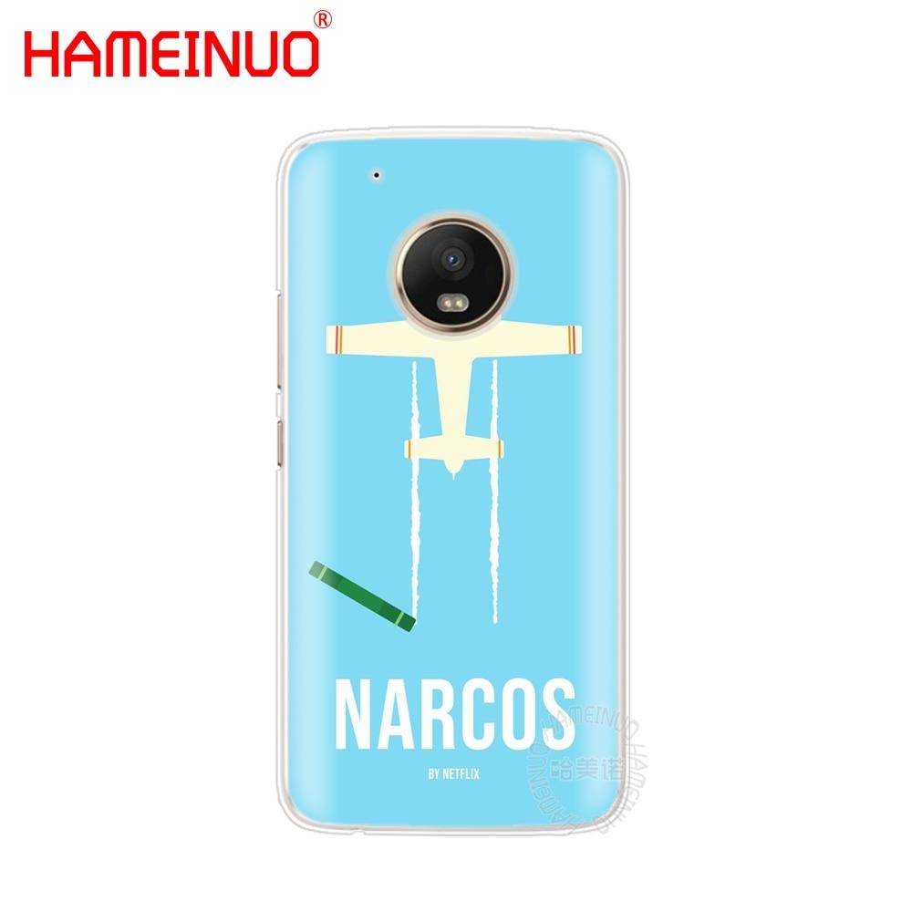 Hameinuo плата о Пломо нарков Pablo чехол для Motorola MOTO X4 E4 c G6 G5 G5S G4 Z2 z3 Play Plus