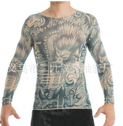 prison break long sleeves tattoo clothing halloween tattoo t shirt fake tattoo cloths wentworth. Black Bedroom Furniture Sets. Home Design Ideas