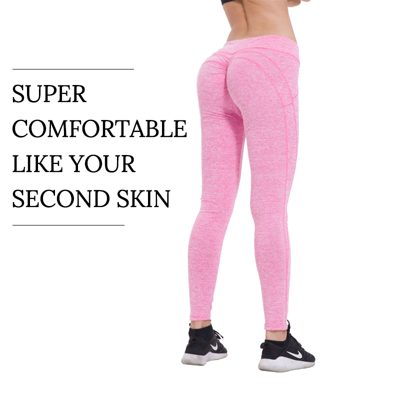 Sexy Push Up Leggings Women Workout Clothing High Waist Leggins Female Breathable Patchwork Fitness Pants ladies
