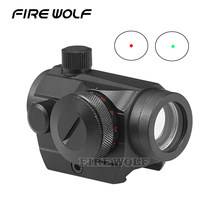 New Tactical Holographic Red Green Dot Sight Scope Project Picatinny Rail Mount 20mm Free Shipping! Optical Instrument Ak 47(China)