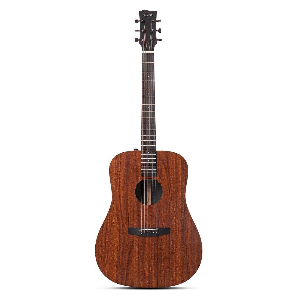 Enya 41 pollici Chitarra HPL Legno Pensione Completa Acustica Guitarra Per Strumenti Musicali Dell'amante del Regalo