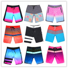Calvn PuLL 2019 Phantom Beach Boardshorts Men Elastic Spandex Swimwear 100% Quick Dry