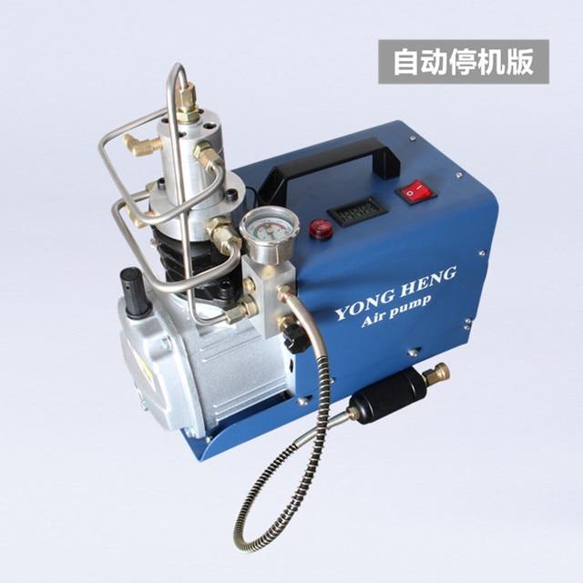 30Mpa לחץ גבוהה PCP משאבת מדחס חשמלי משאבת אוויר חשמלית 220 V